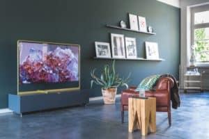 Stylish homewares in modern interior