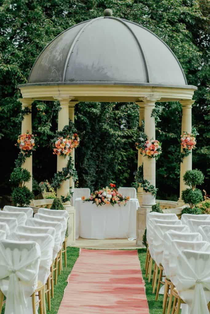Gazebo for a wedding