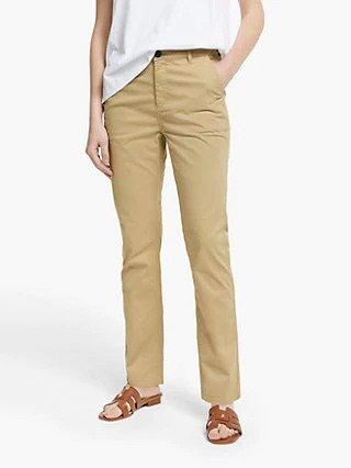 Sandy colored beige chinos